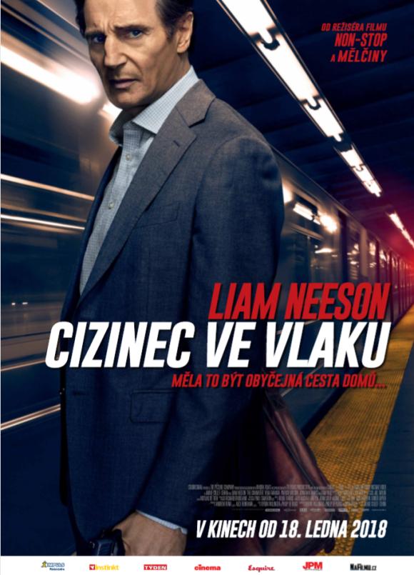 Cizinec ve vlaku - PLAKAT