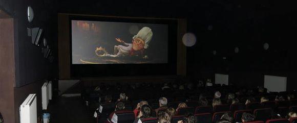 Kino interiér
