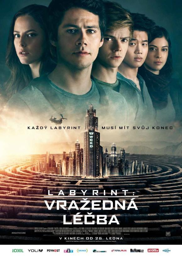 Labyrint Vrazedna lecba_plakat