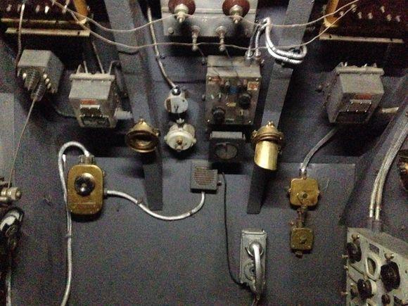 interiér ponorky