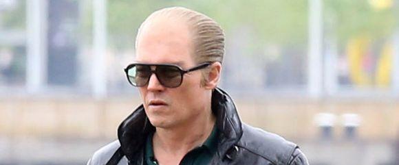 Johnny Depp Films A Violent Scene For 'Black Mass'