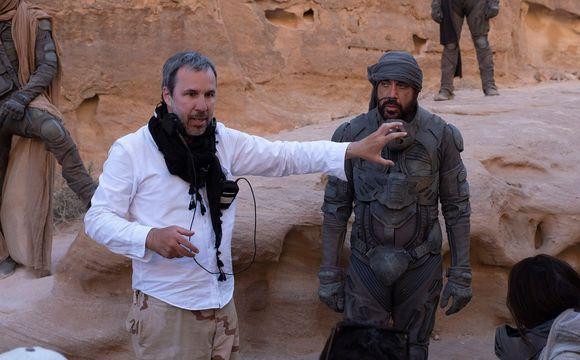 Režisér Denis Villeneuve a Javier Bardem