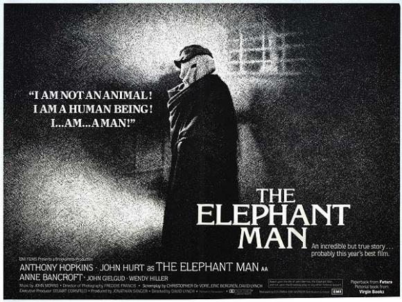 elephant man poster