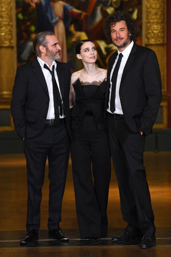 Joaquin Phoenix, Rooney Mara and Garth Davis - 'Mary Magdalene' film screening, National Gallery, London, UK - 26 Feb 2018