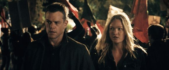 Jason Bourne a Nikki, tedy Matt Damon a Julia Stiles
