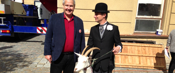 Otto Hofman, Pan Tau a koza