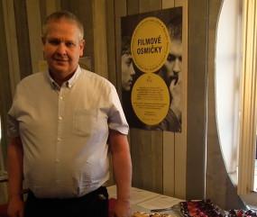 Ing. Otto Hofmann - ambasador projektu Ota Hofman 90 a syn spisovatele a scenáristy Oty Hofmana