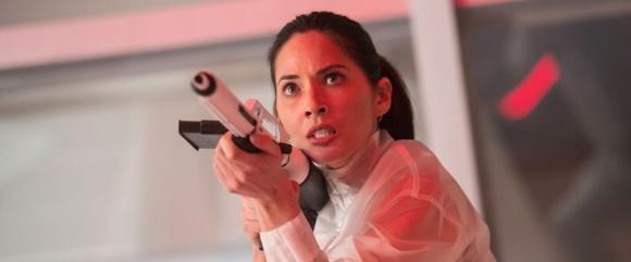 "Olivia Munn stars in Twentieth Century Fox's ""The Predator."""