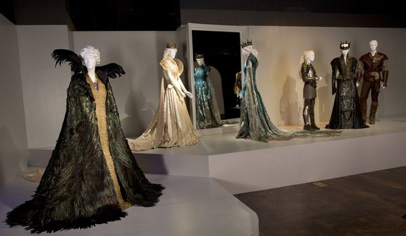 """These costumes can be seen in the 21st Annual """"Art of Motion Picture Costume Design"""" exhibition in the FIDM Museum & Galleries at FIDM/Fashion Institute of Design & Merchandising in Los Angeles, CA on Saturday, February 9, 2013.  (Alex J. Berliner/ABImages)"""