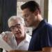 Martin Scorsese a Leonardo Di Caprio během natáčení